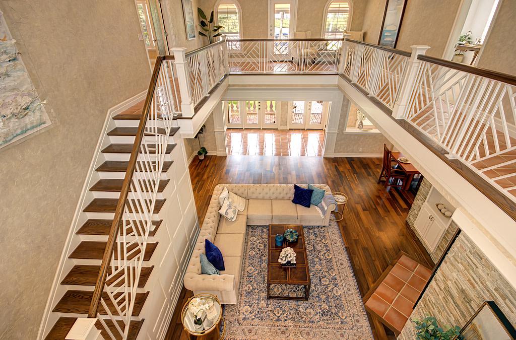 Interior real estate photograph